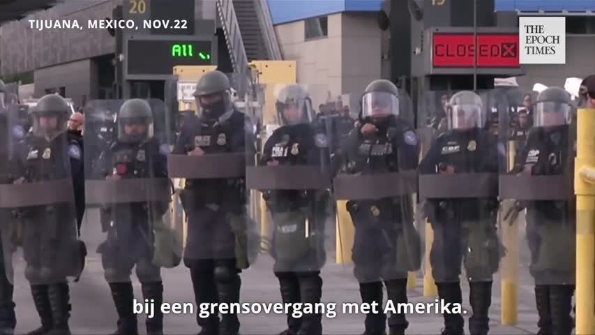 Tijuana Declares Humanitarian Crisis_Dutch subs