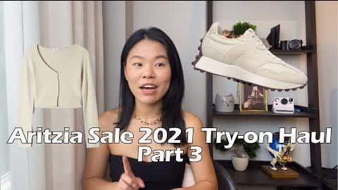 Aritzia Summer Sale 2021 Try-on | Aritzia PSA