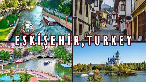 ESKİŞEHİR | A Perfect Short Getaway from Istanbul by Turkish High-Speed Train (FULL GUIDE)