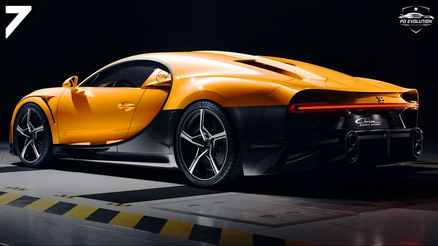 7 NEWEST SUPERCARS AND HYPERCARS 2021-2022
