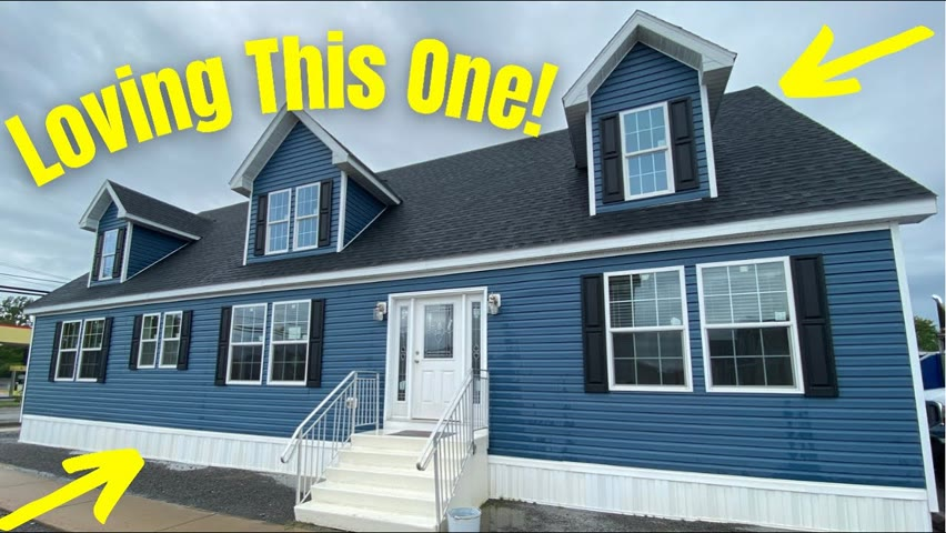 YES, YES, YES! I am LOVING this 2 STORY MODULAR HOME Right Here!   Home Tour