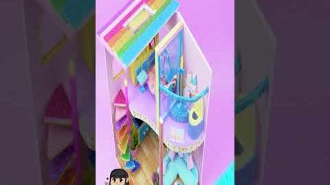 How To Make Miniature House On The Beach | DIY Miniature House #shorts