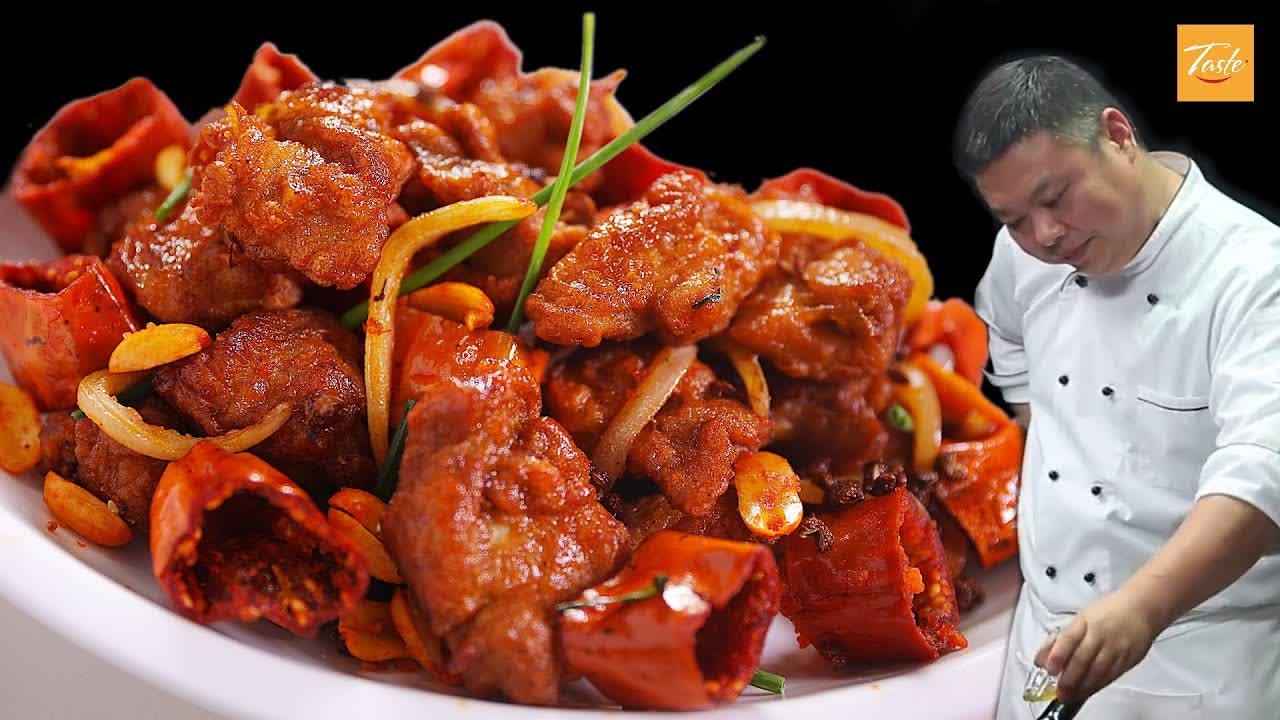 Restaurant Style Chilli Chicken - Cooking by Masterchef • Taste Show