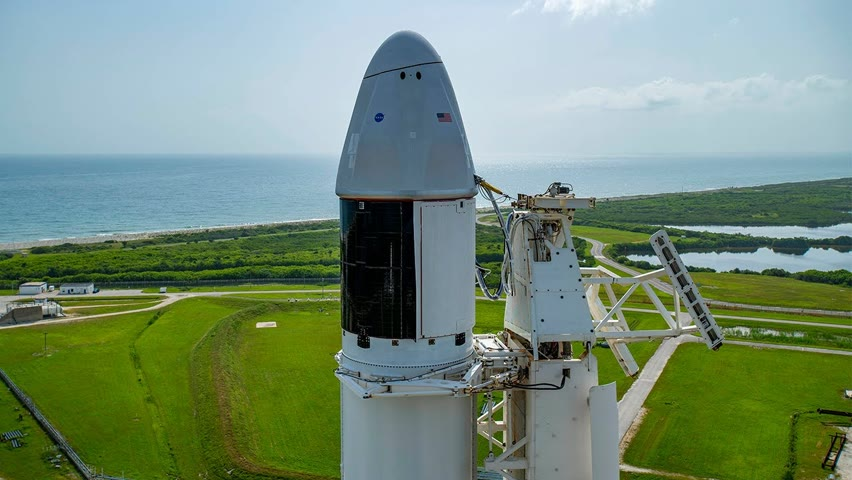 SECOND ATTEMPT: NASA and SpaceX Launch to the International Space Station