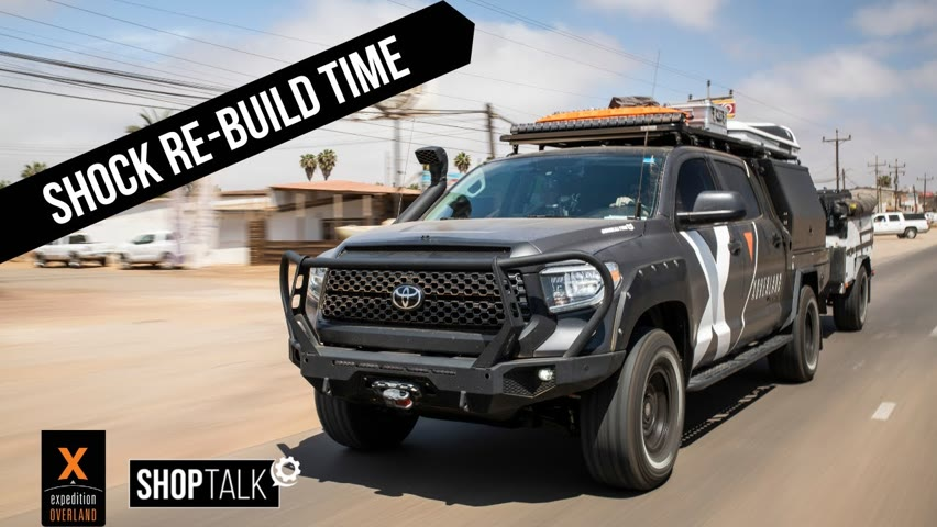 EP4 Shop Talk: The One Where We Take OFF The Tundra Shocks For A Rebuild