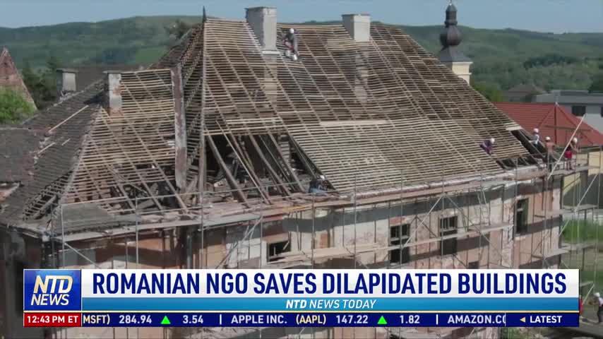 Romanian NGO Saves Dilapidated Buildings