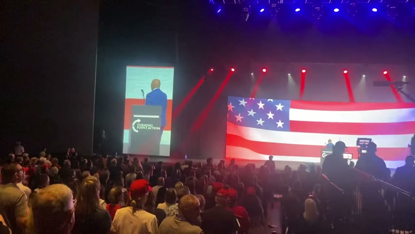Audience at Tipping Point USA's AZ Rally erupts in Moving Pledge