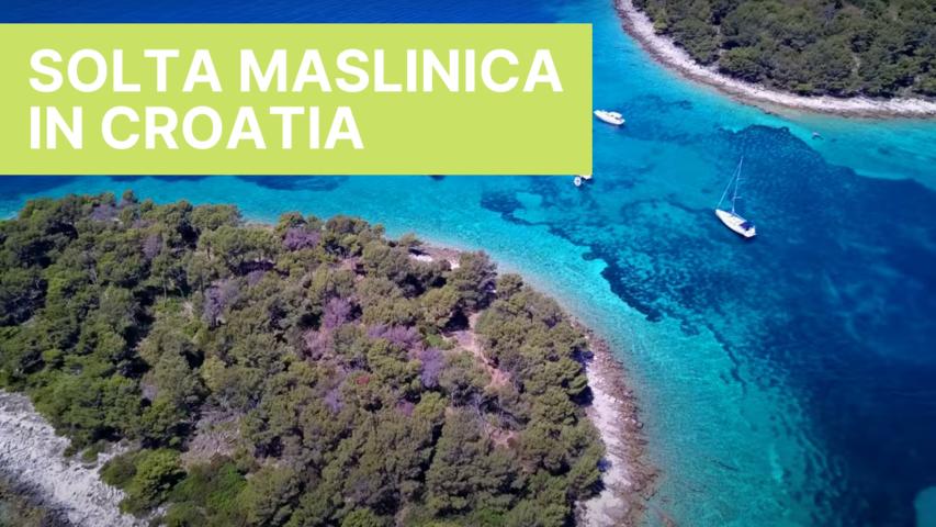 Solta Maslinica in Croatia
