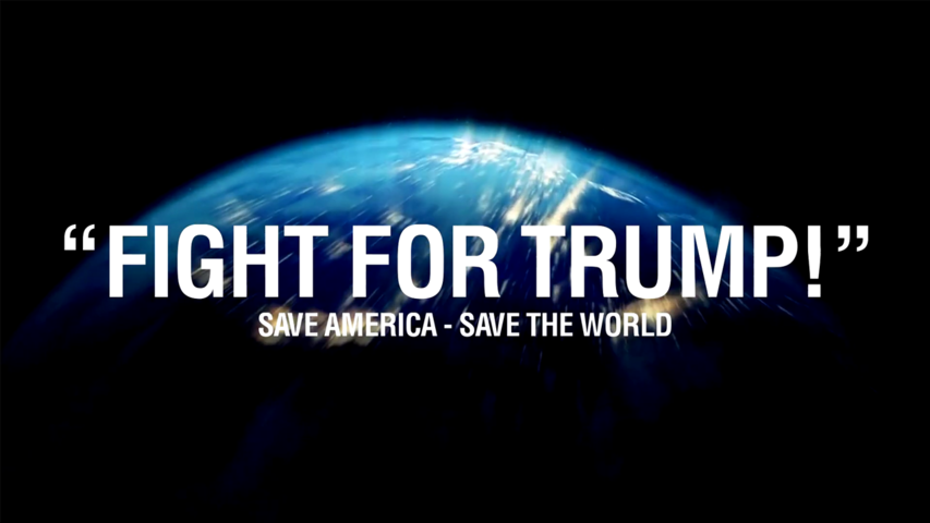 FIGHT FOR TRUMP! Save America - Save the World