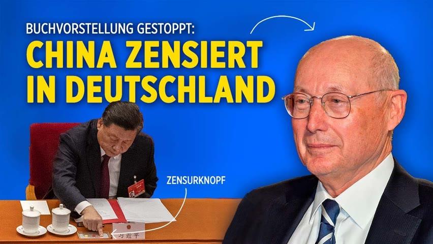 """""""Verstörendes Signal"""": Absage von Buchlesung in deutschen  Konfuzius-Instituten sorgt für Kritik"""