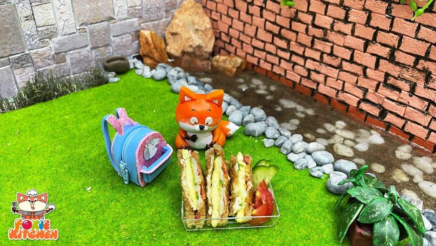 [ENGSUB] Lunch box #7 - Friday Bento   ASMR Mini Cooking