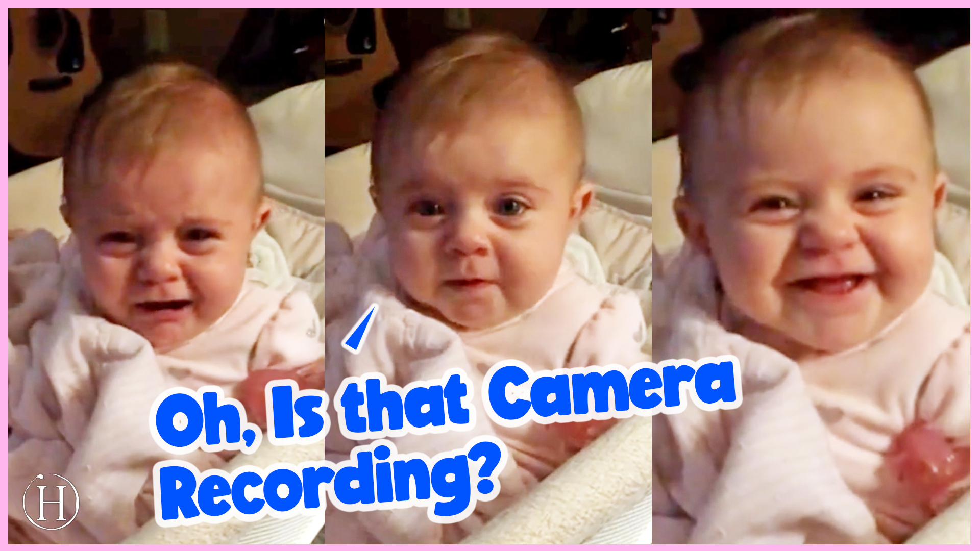 This Baby Stops Crying When She Looks At the Camera | Humanity Life