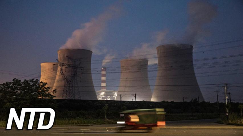 Vad ligger bakom elbristen i Kina? | NTD NYHETER