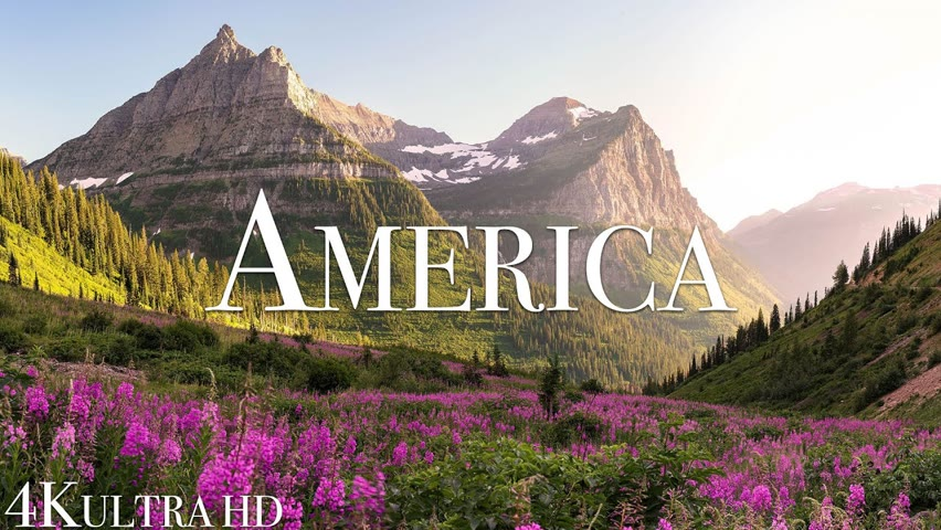 America 4K Most Beautiful Destinations in America & Relaxing Music by Relaxation Film