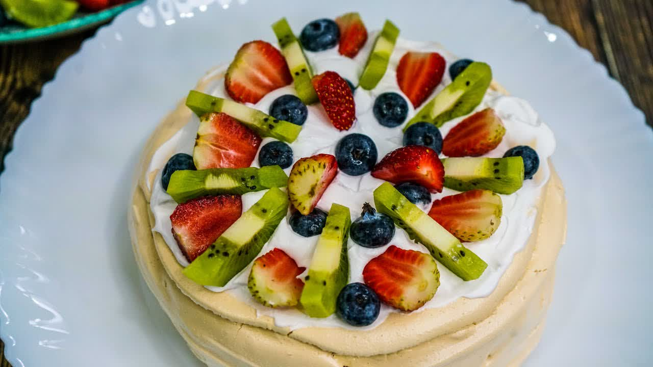Resepi Pavlova   Recipe Pavlova cake   MyDapur Panas
