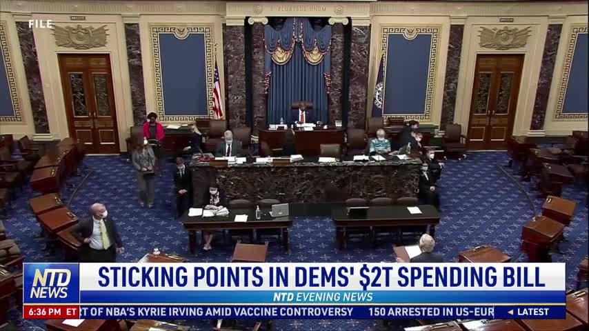 Sticking Points in Democrats' $2 Trillion Spending Bill