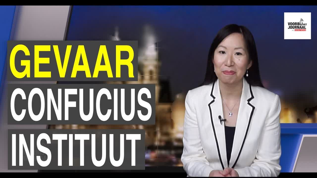 Groningse studenten in verzet tegen wereldmacht China; Bedreigingen van Confucius instituut