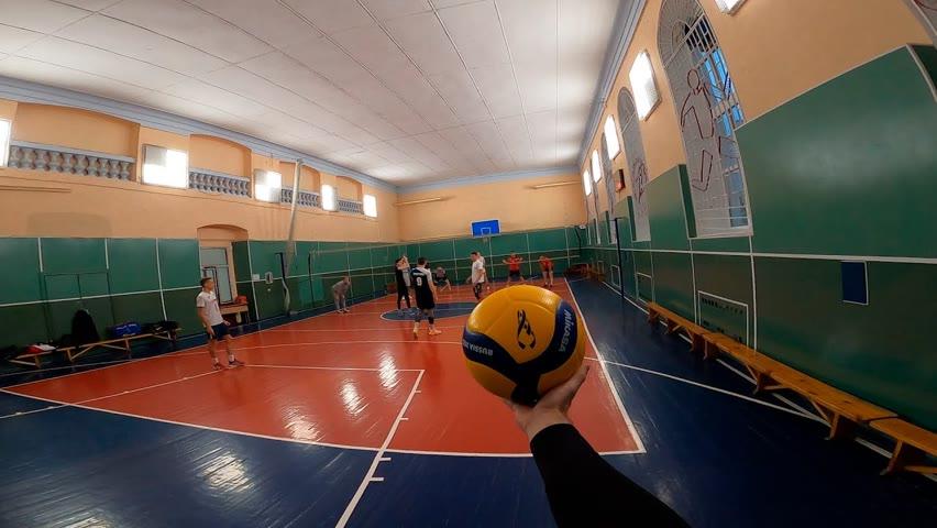 «Dream Team» #1 эпизод | Волейбол от первого лица | Первая тренировка.