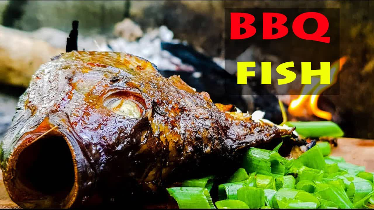 BBQ fish in the Wild