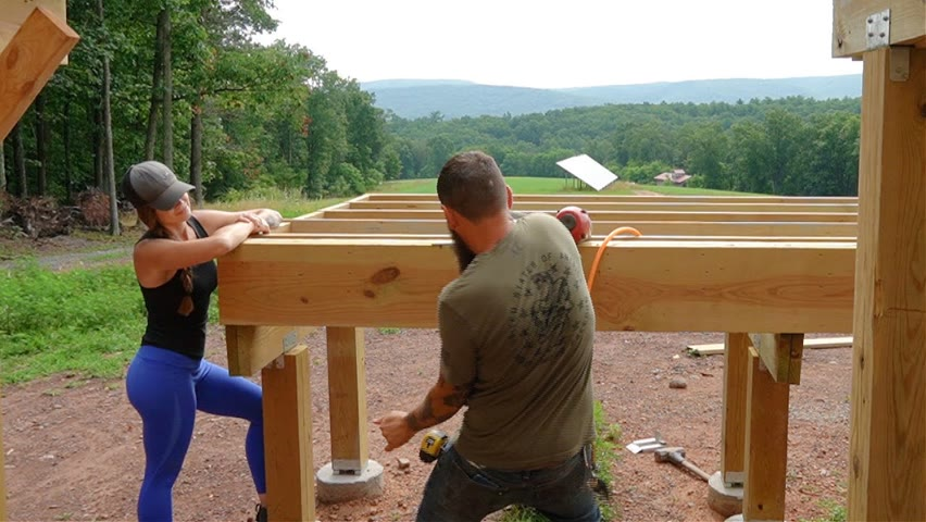 FINISHING THE LOWER DECK