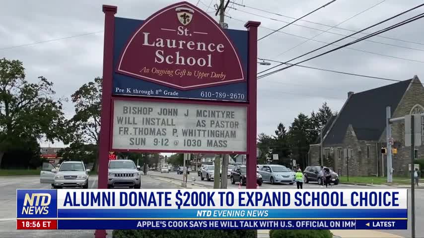 Alumni Donate $200,000 to Expand School Choice