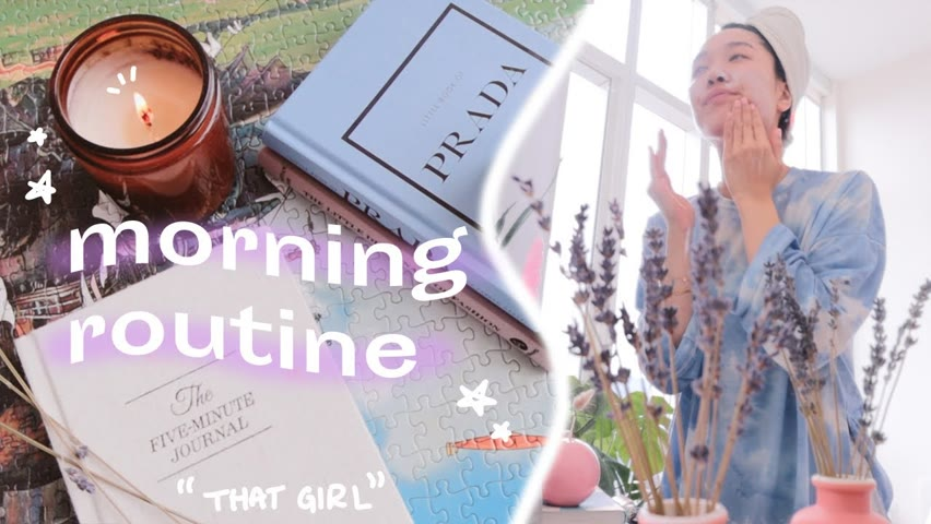 create a morning routine you love waking up to (step by step process & how to *that girl*)