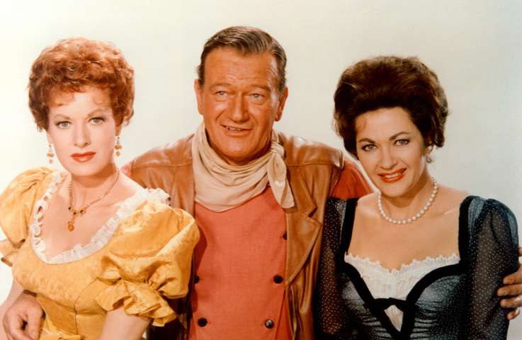 McLintock! (1963) John Wayne _ Comedy, Romance, Western Color Movie