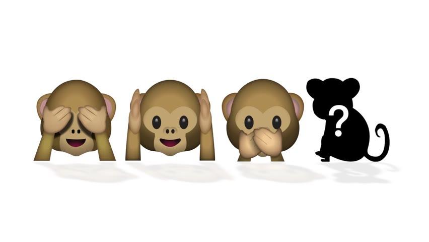 四勿猴 | 孔子專利表情包 🙈🙉🙊🐒
