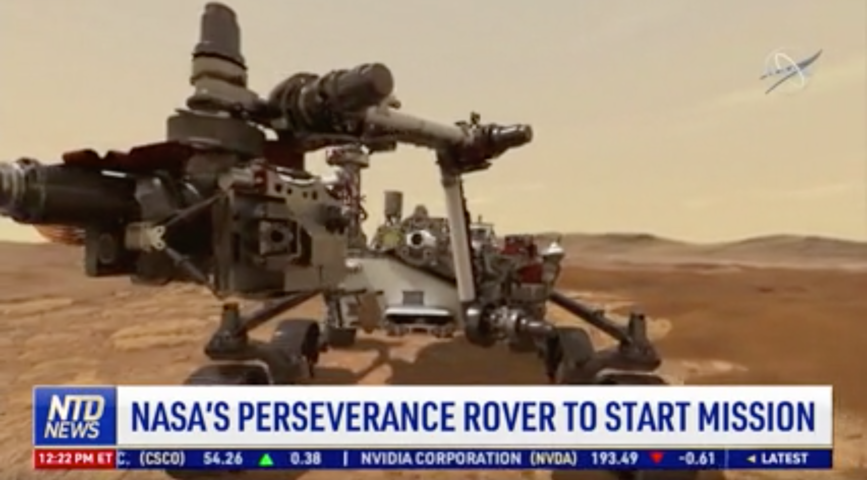 NASA's Perseverance Rover to Start Mission