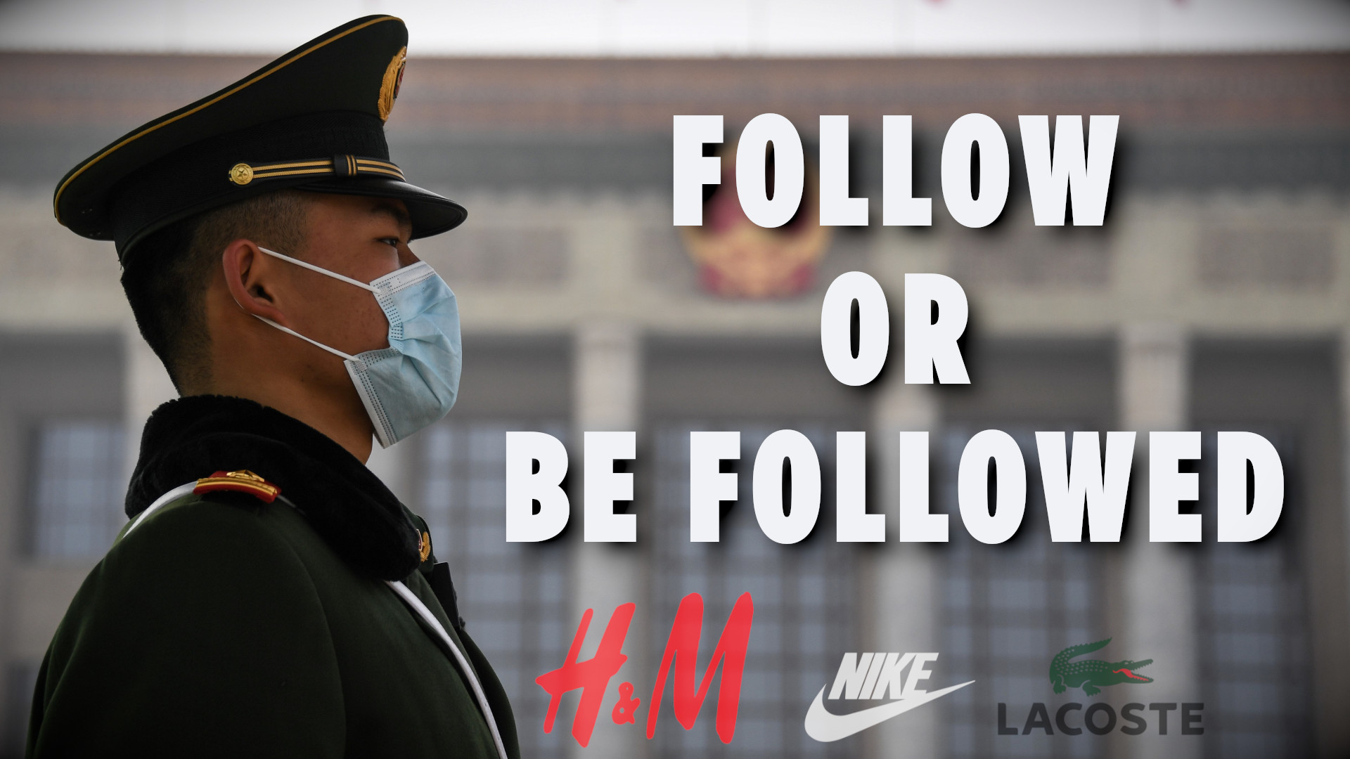 FOLLOW OR BE FOLLOWED - The Perpetrator punished the Innocent. The story of H&M and others