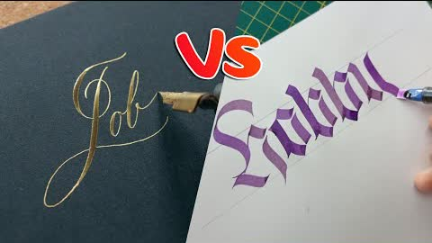 10 Calligraphers Writing if Calligraphy is Their Job or Hobby | Calligraphy Masters