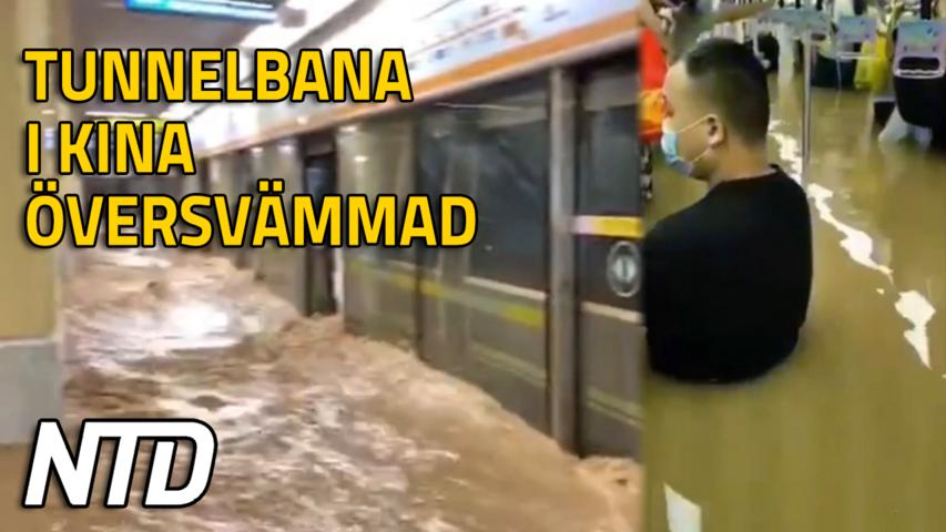 Invånare kräver svar efter dödsfall till följd av översvämning i tunnelbanan | NTD NYHETER