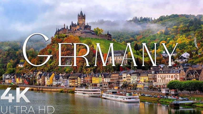 Germany 4K Ultra HD - Romantic Music,  Beautiful Relaxing Music - Our Planet by Relaxation Film