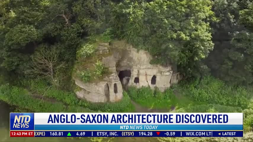 Anglo-Saxon Architecture Discovered