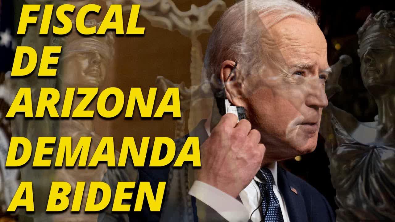 El domingo por la noche, el fiscal general de Arizona, presentó una demanda contra Biden