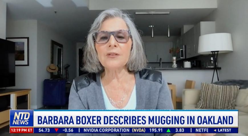 Former Sen. Barbara Boxer Describes Mugging in California