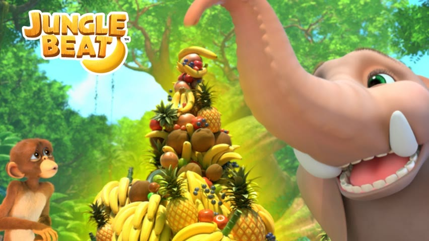 🍓HEALTHY EATING 🍓| Jungle Beat NEW Episode! | VIDEOS and CARTOONS FOR KIDS 2021