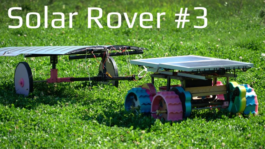 Solar Rover #3 - 3D Printed Brushless Gearbox