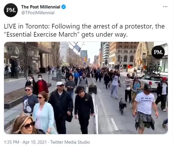 Happening NOW - Toronto Streets Erupt In Protest!