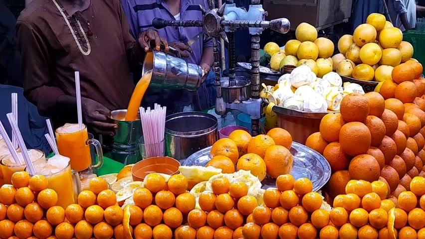 Fresh Orange Juice | Special Summer Drink | Amazing Mosambi Sharbat | Pakistani Street Food