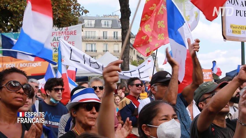 Combat de ma vie | Contre le pass sanitaire à Paris, 18 septembre 2021