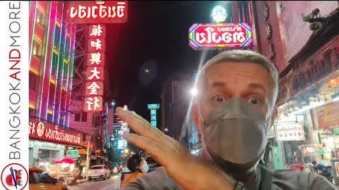 🔴 LIVE from Bangkok Chinatown ❤️🇹🇭