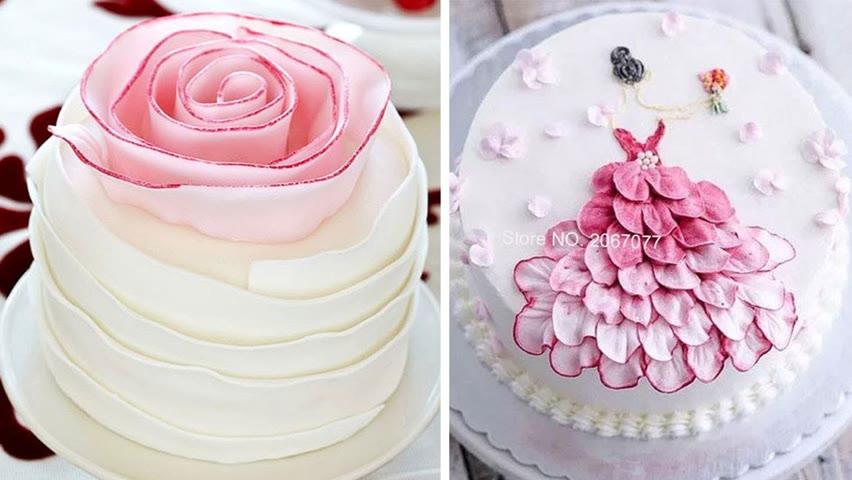 10+ Oddly Satisfying Cake Decorating Ideas | Creative And Tasty Cake Decorating Ideas