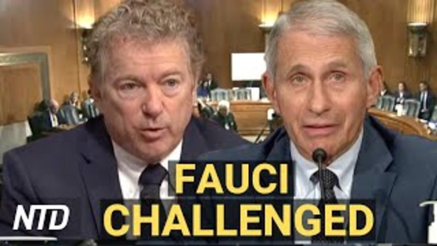'It Is a Crime': Sen. Paul Clashes w/ Fauci at Hearing; Securing the President's 'Nuclear Football'