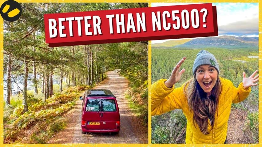 Epic Scotland Road Trip | UK Vanlife | Cairngorms