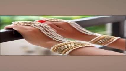 Trendy!!!... Designer Ring Bracelet 👌😍 #shorts #diyjewelry #raataanlambiyan