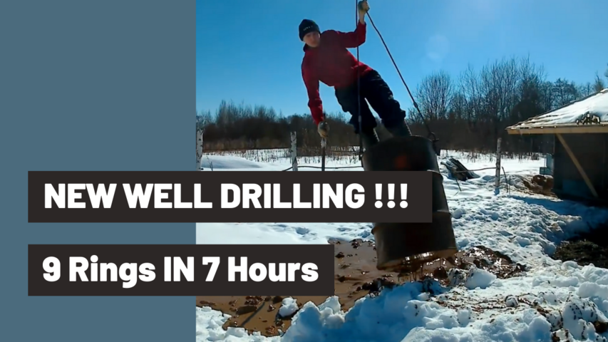 NEW WELL DRILLING !!! 9 Rings IN 7 Hours