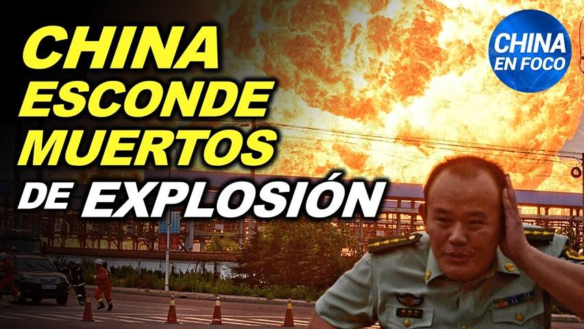 China oculta muertos de una gran explosión. Nuevo golpe para Hong Kong