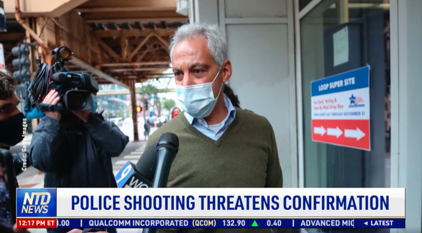 Rahm Emanuel's Handling of Police Shooting Threatens Confirmation