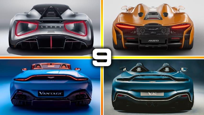 9 New Best BRITISH SUPERCARS for 2020 – 2021 | Mclaren, Aston Martin, Lotus